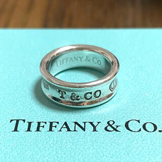 Tiffany & Co. - ティファニー ナロー リング 指輪 ワイド 8号  925