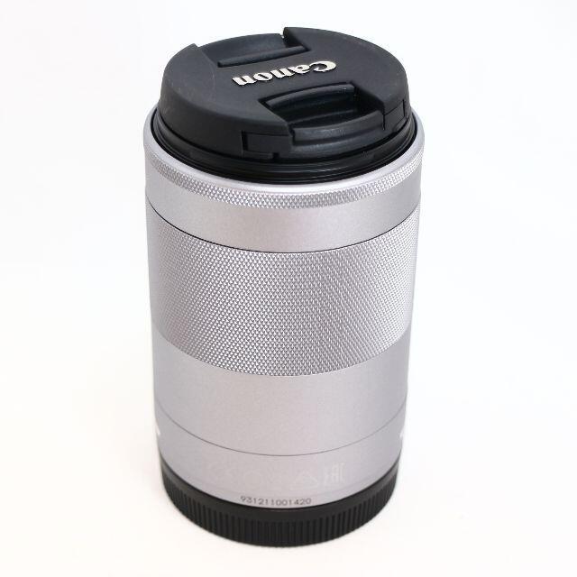 Canon(キヤノン)の★美品★ CANON EF-M55-200mm F4.5-6.3 IS STM  スマホ/家電/カメラのカメラ(レンズ(ズーム))の商品写真