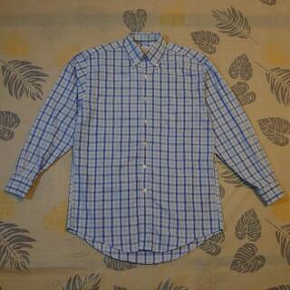 ブルックスブラザース(Brooks Brothers)の美品 Brooks Brothers チェック長袖ボタンダウンシャツ(シャツ)