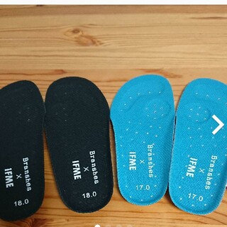 Branshes - IFME 中敷き 17 18 靴 スニーカー ウォーターシューズ
