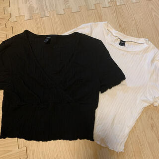 ジェイダ(GYDA)のクロップド丈トップス2点セット(Tシャツ(半袖/袖なし))