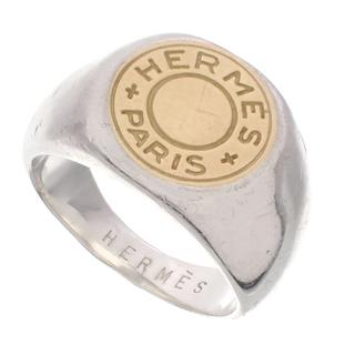 Hermes - エルメス セリエ リング シルバー925 K18ゴールド 40802000651
