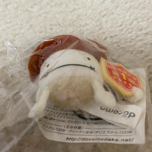 NTTdocomo(エヌティティドコモ)のドコモダケ ストラップ スマホ/家電/カメラのスマホアクセサリー(ストラップ/イヤホンジャック)の商品写真