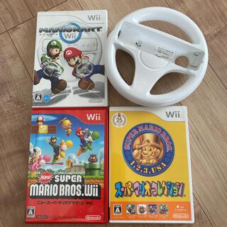 Wii - Nintendo Wii ソフト マリオ3本セット ジャンク品