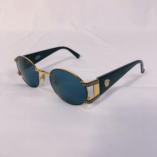【ヴェルサーチ/Versace】サングラス メデューサ ブラックゴールド 金黒