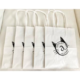 Tiffany & Co. - ティファニー キャットストリート ショッパー  5枚セット ショップ袋 紙袋