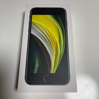 iPhone - 新品・未使用 iPhone se2 64G BLACK