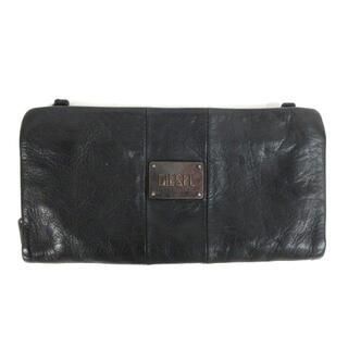 ディーゼル(DIESEL)のディーゼル DIESEL レザー 長財布 ウォレット ブラック 210916E(長財布)