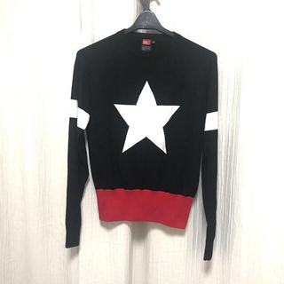 DOUBLE STANDARD CLOTHING - ダブルスタンダード STARロゴニット