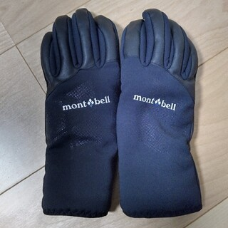 mont bell - mont-bell ウインドストッパーインシュレーテッドサイクルグローブ