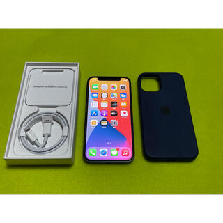 iPhone - 【SIMフリー】iphone 12mini 128GB ブルー 純正ケース付き