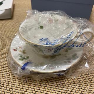 ウェッジウッド(WEDGWOOD)のウエッジウッド ワイルドストロベリー カップ&ソーサ(グラス/カップ)