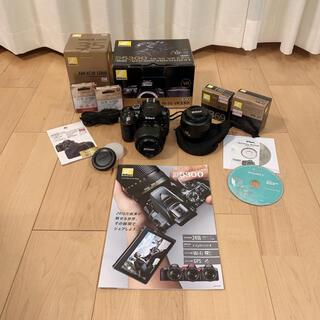 Nikon - Nikon D5300 標準レンズ 単焦点レンズ 小物セット