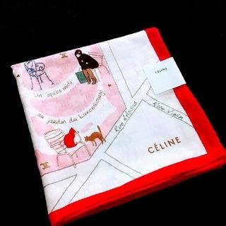 celine - CELINE 大判ハンカチ