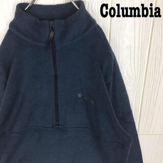 コロンビア(Columbia)のコロンビア ハーフジップ フリースジャケット ブルゾン アウター プルオーバー(ブルゾン)