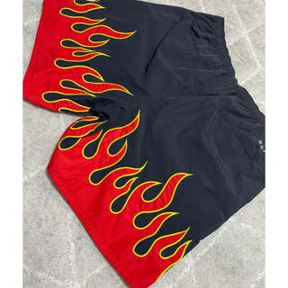 F.C.R.B. - FCRB f.c real bristol FIRE FLAME SHORTS