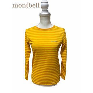 モンベル(mont bell)のmontbell モンベル レディースボーダー 長袖Tシャツ(Tシャツ(長袖/七分))