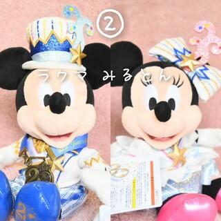Disney - 東京ディズニーシー20周年 タイムトゥシャイン ミッキー&ミニー ペアぬいぐるみ