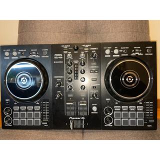 パイオニア(Pioneer)の新品・ほぼ未使用 2020年製 Pioneer DDJ-400(DJコントローラー)