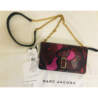 MARC JACOBS - 未使用タグ付き♡♡マークジェイコブスレザーチェーンショルダーウォレット バッグ♡