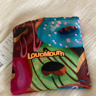 ラウドマウス(Loudmouth)の⭐︎新品未使用⭐︎ラウドマウス ドーナツ柄 エコバッグ マルチケース(バッグ)