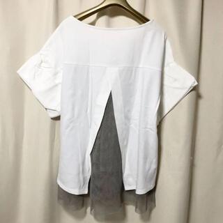 JOURNAL STANDARD - EDIFICE ワイドスリーブ メッシュデザイン ビッグシルエットTシャツ