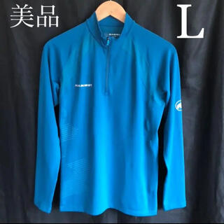 Mammut - 美品 マムート MAMMUT ハーフジップ ロングスリーブシャツ 長袖