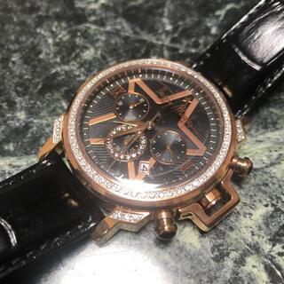 ティエリーミュグレー(Thierry Mugler)のティエリーミュグレー  クロノグラフ スワロ  腕時計  新品未使用   (腕時計(アナログ))