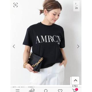 DEUXIEME CLASSE - AMERICANA アメリカーナAMRCN Tシャツ