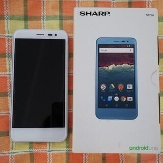 SHARP - 【美品】シャープ アクオス★507SH★スマホ本体★Y!mobile★箱あり