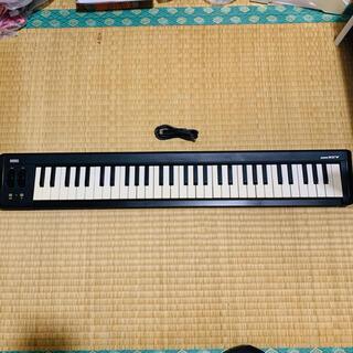 コルグ(KORG)のKORG microKEY-61 コルグ MIDIキーボード(MIDIコントローラー)