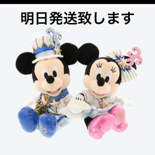 Disney - TDS  ぬいぐるみ ペアぬい ディズニー 20周年 ミッキー ミニー