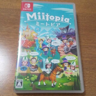 Nintendo Switch - Miitopia ミートピア Switchソフト