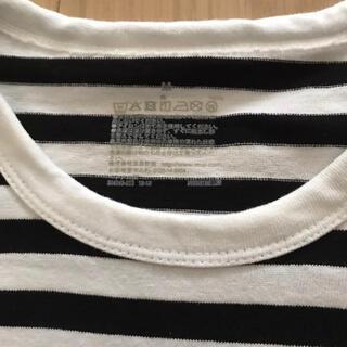 ムジルシリョウヒン(MUJI (無印良品))の無印 ボーダー ポケットTシャツ(Tシャツ(半袖/袖なし))