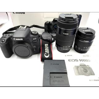 Canon - 【3年保証】【美品】Canon EOS 9000D ダブルズームキット