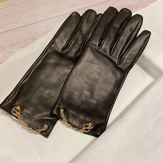 エルメス(Hermes)の新作! エルメス グローブ 手袋 ボニー シェーヌダンクル 37.5 未使用(手袋)