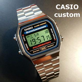 CASIO - 【新品/送料込】CASIO チープカシオ 液晶反転 カスタム カシオ腕時計