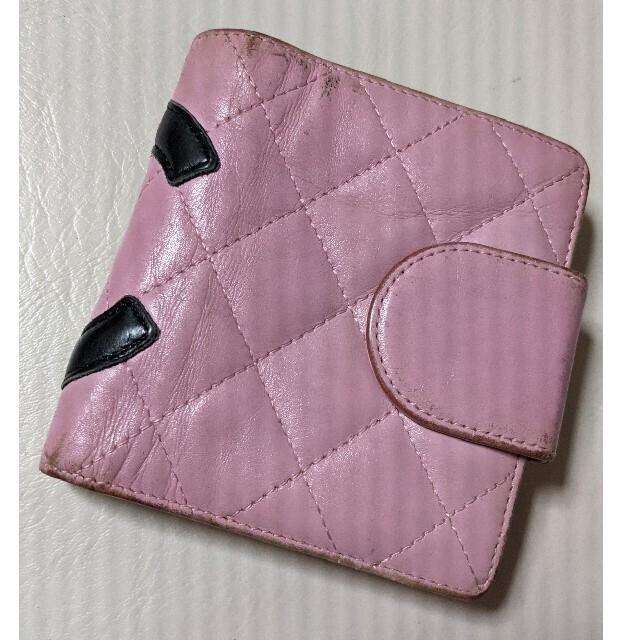 CHANEL(シャネル)のCHANEL カンボンライン 財布 シャネル レディースのファッション小物(財布)の商品写真