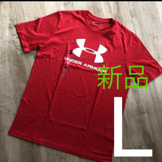 UNDER ARMOUR - ☆新品☆アンダーアーマー メンズヒートギアTシャツ レッド Lサイズ
