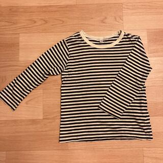ムジルシリョウヒン(MUJI (無印良品))の無印トップス110センチ(Tシャツ/カットソー)