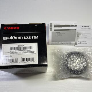 Canon - 未使用展示品 EF40mm F2.8 STM