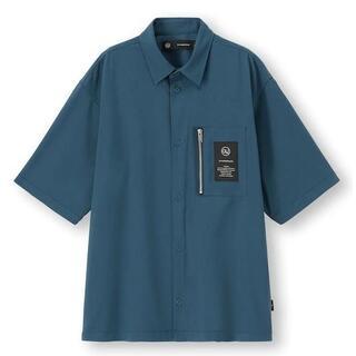 アンダーカバー(UNDERCOVER)の連休限定 GU x UNDERCOVER ジップポケットシャツ[五分袖](シャツ)
