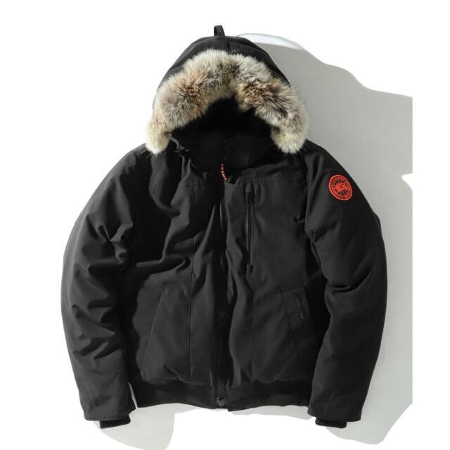 CANADA GOOSE(カナダグース)の【即完売】 BEAMS別注 カナダグース ボーデンボンバー ダウンジャケット M メンズのジャケット/アウター(ダウンジャケット)の商品写真