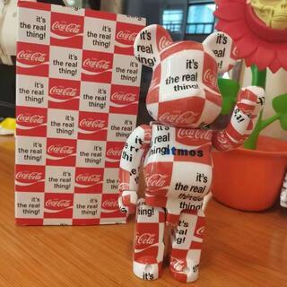 メディコムトイ(MEDICOM TOY)のbe@rbrick400% atmos coca cola  clearbody(ゲームキャラクター)