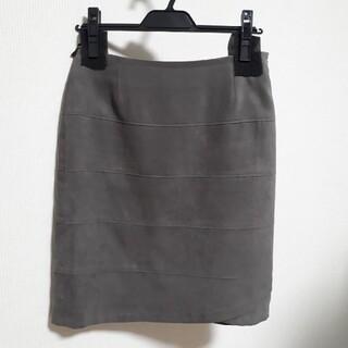 クードシャンス(COUP DE CHANCE)のクードシャンス 定番スエードスカート(ひざ丈スカート)