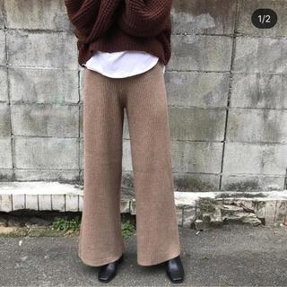 TODAYFUL - クリーニング済 todayful Knit Rib PT★