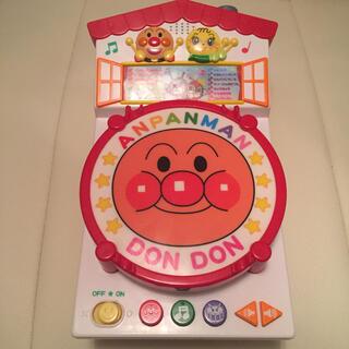 バンダイ(BANDAI)のアンパンマン  おうちでどんどん たいこ 太鼓 おもちゃ(楽器のおもちゃ)