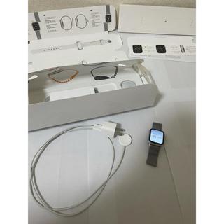 Apple Watch - アップルウォッチ6 GPSモデル 40mm シルバー
