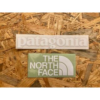 ザノースフェイス(THE NORTH FACE)のノースフェイス パタゴニア カッティングステッカー 2枚セット 正規品(その他)