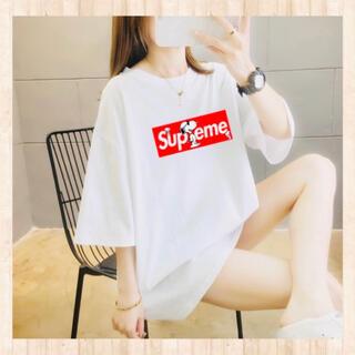 新品韓国 トップス 半袖ティシャツ ロゴTシャツ